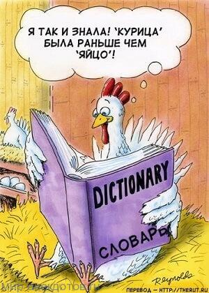 анекдот про курицу