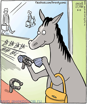 анекдот про каблуки