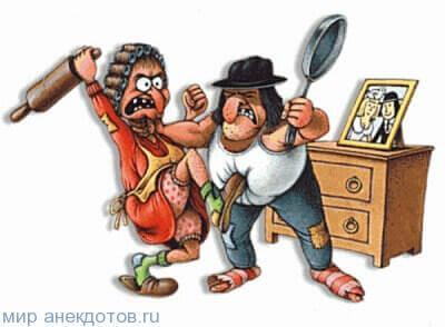 анекдот про сковороду