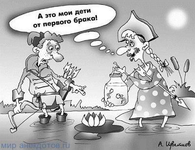 Анекдоты про Ивана Царевича