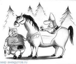 Анекдоты про Илью Муромца