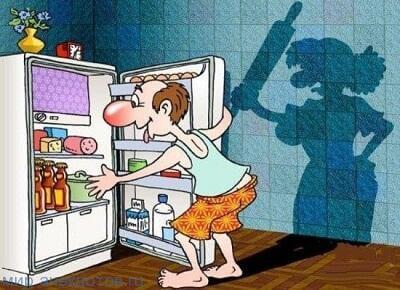 забавный анекдот про мужа и жену