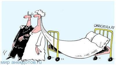 веселый анекдот про свадьбу