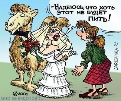 прикольный анекдот про невесту