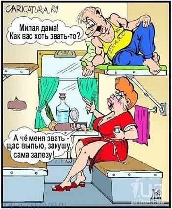 Забавные анекдоты про даму
