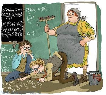 лучший анекдот про математику
