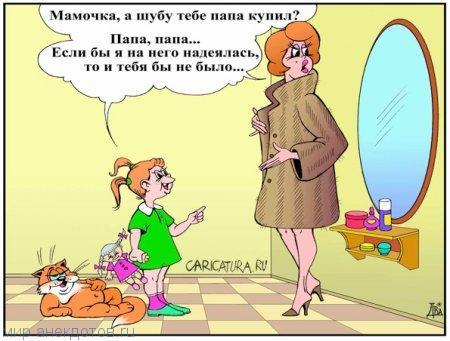 анекдот картинка про жену