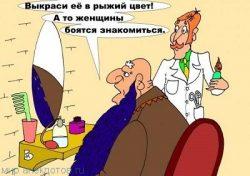 Смешные анекдоты про бороду