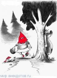 Сказка «Красная шапочка» на новый лад