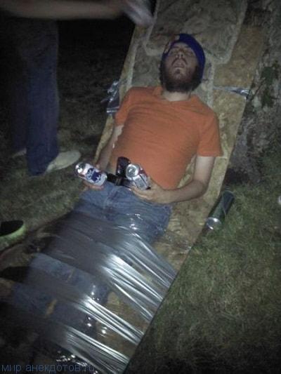 смешной фото прикол с пьяным