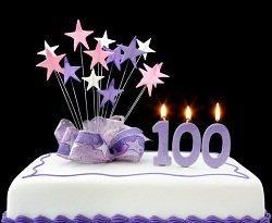 Поздравления со 100-летием в стихах