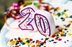 Лучшие поздравления с 20-летием