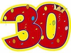 Веселые поздравления с 30-летием