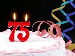 Лучшие поздравления с 75-летием