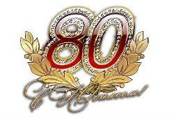 Забавные поздравления с 80-летием