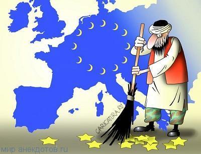 Лучшие анекдоты про Европу