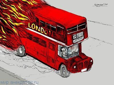 Забавные анекдоты про Лондон