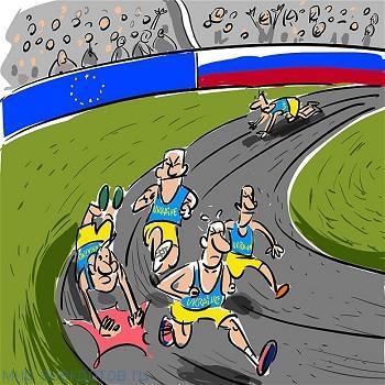 забавный анекдот про украинцев
