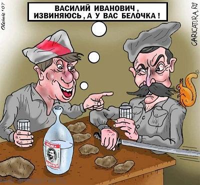 Забавные анекдоты про Василия Ивановича