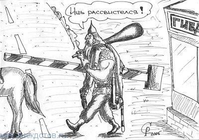 Смешные анекдоты про Илью Муромца