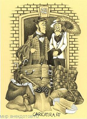Веселые анекдоты про Шерлока Холмса