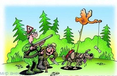 Смешные истории охотников