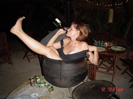 Пьяные девушки на фото