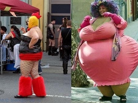 Смешные костюмы на фото
