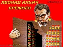 Веселые анекдоты про Брежнева