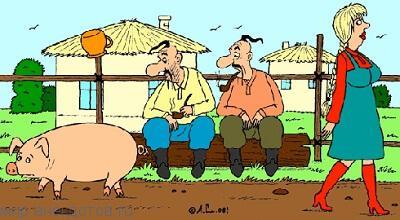 Смешные анекдоты про кума