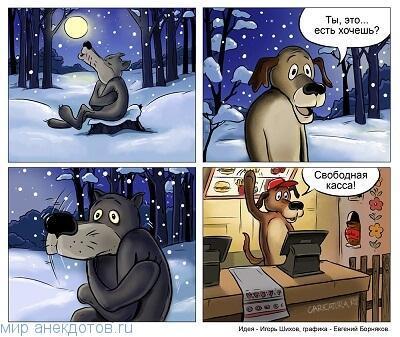 Веселые анекдоты про пса