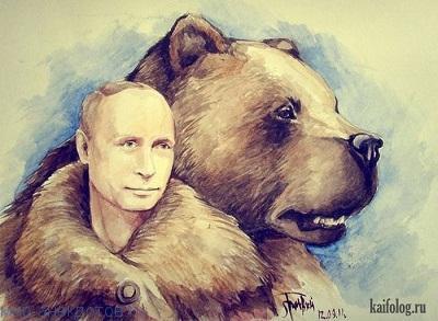 Прикольные анекдоты про Путина