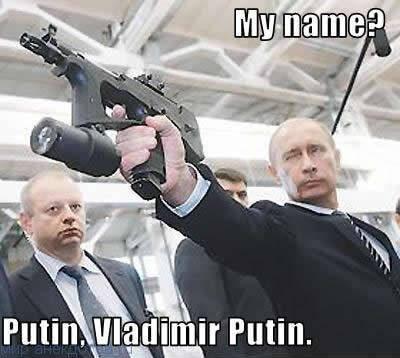 Забавные анекдоты про Путина