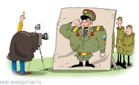 Забавные анекдоты про солдат
