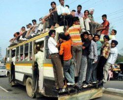 Необычные индийские автобусы на фото