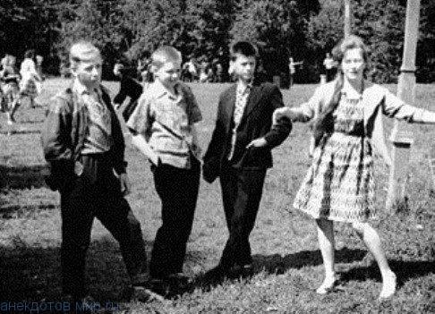 Алла Борисовна в школе