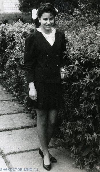 Ани Лорак в школе