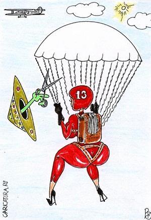 Лучшие анекдоты про парашют
