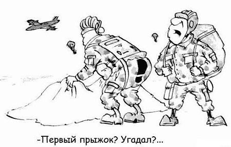 Анекдоты про парашют