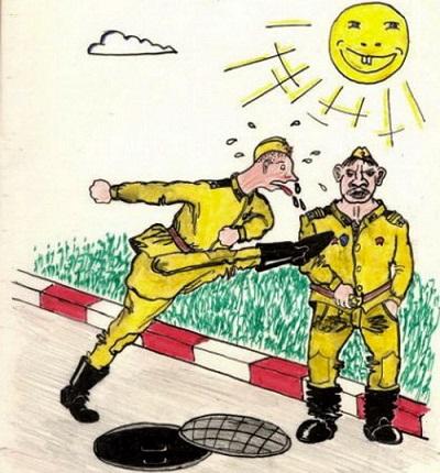 Прикольные анекдоты про сержантов