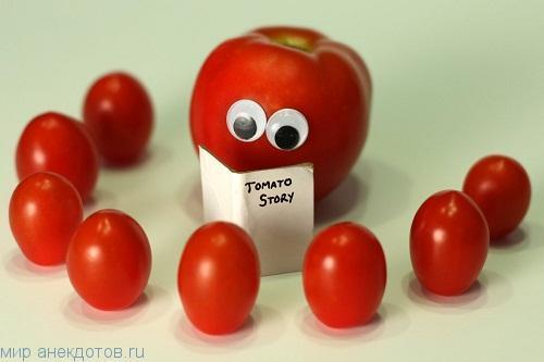 Смешные фрукты и овощи