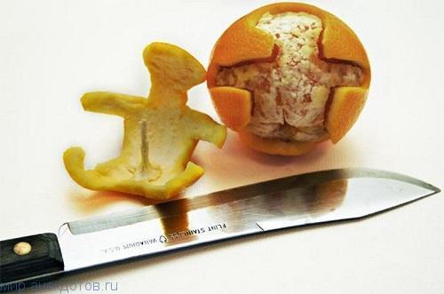 Веселые фрукты и овощи