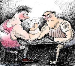 Анекдоты про борьбу