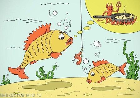 Анекдоты про рыбу