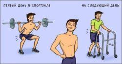 Анекдоты про спортсменов