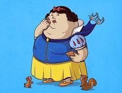 Прикольные шутки про жирных