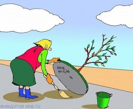 бесплатный анекдот про дерево