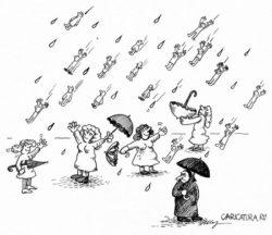 Свежие анекдоты про дождь