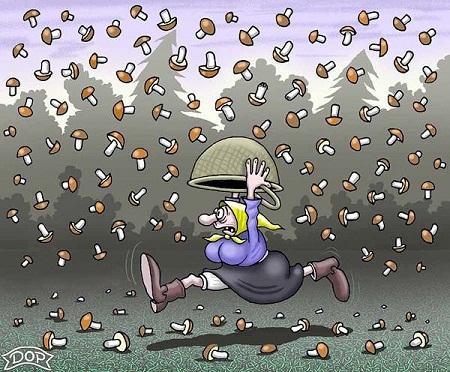 Очень смешные анекдоты про дождь