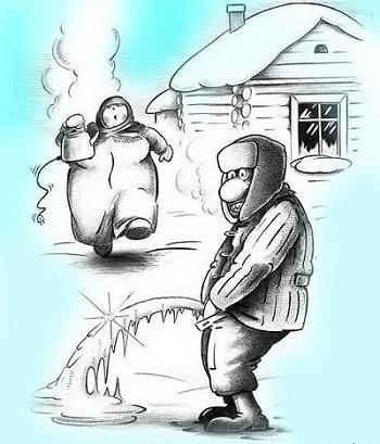 анекдот про мороз